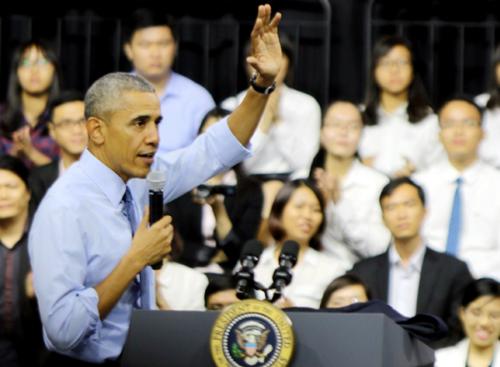 Obama và những bài phát biểu lay động lòng người 1