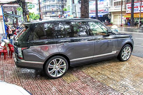 Phiên bản Range Rover Black Edition đặc biệt về Việt Nam 1