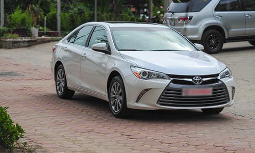 Toyota Camry XLE 2016 bản xuất Mỹ về Việt Nam 1