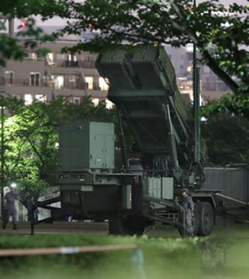 [Caption]hệ thống tên lửa đánh chặn đất đối không PAC-3
