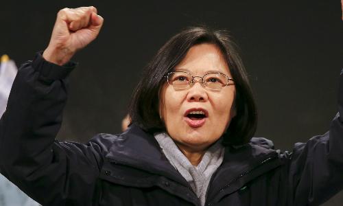 Thái Anh Văn lên nắm quyền tại Đài Loan từ ngày 20/5. Ảnh: Reuters