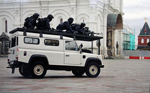 Đội đặc vụ tinh nhuệ bảo vệ tổng thống Nga 2