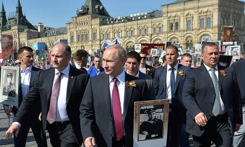 Đội đặc vụ tinh nhuệ bảo vệ tổng thống Nga 1