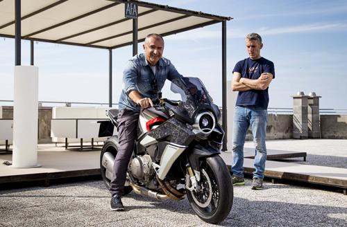 Honda Burasca 1200 - siêu môtô Nhật - Italy kết hợp 1