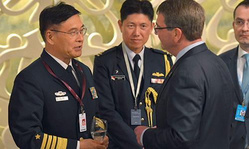 Sàn đấu hẹp Mỹ - Trung tại diễn đàn an ninh lớn nhất châu Á 3