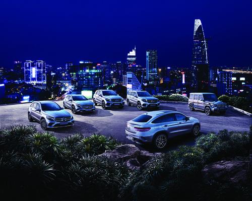 Mercedes Việt Nam ra mắt GLS và C-Class Coupé tại Hà Nội 1