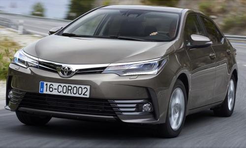 Toyota Altis 2017 - thể thao hơn, thêm công nghệ 1