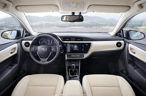 Toyota Altis 2017 - thể thao hơn, thêm công nghệ 2