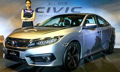 Honda Civic 2016 giá từ 27.400 USD tại Malaysia 1
