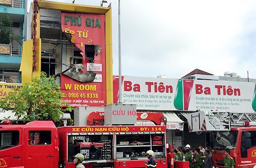 """Người thoát khỏi đám cháy ở Sài Gòn: """"Tôi nghe 4 đứa kêu la phía sau"""" 3"""