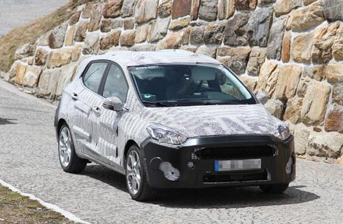 Ford Fiesta 2018 lộ diện 1