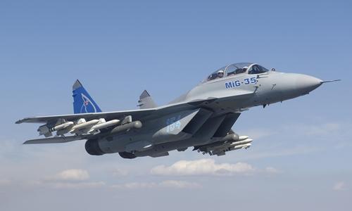 Chiến đấu cơ Mig-35 thử nghiệm. Ảnh: Migavia.ru