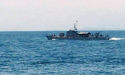 Nhiều mũi tiếp cận vệt dầu loang nghi Su 30 rơi 1