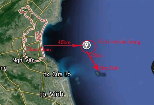 Nhiều mũi tiếp cận vệt dầu loang nghi Su 30 rơi 2