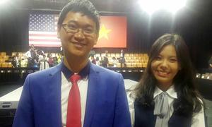 Học sinh Sài Gòn chế xe lăn vượt địa hình được giải quốc tế