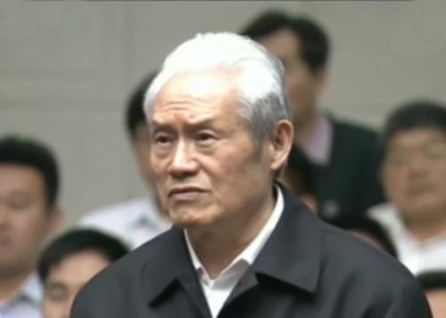 Chu Vĩnh Khang trong phiên xét xử. Ảnh:CCTV