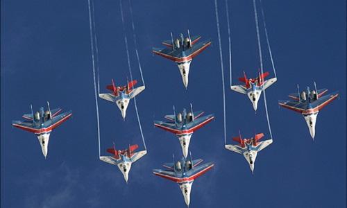 Phi đội Hiệp sĩ - biểu tượng của sức mạnh không quân Nga 1