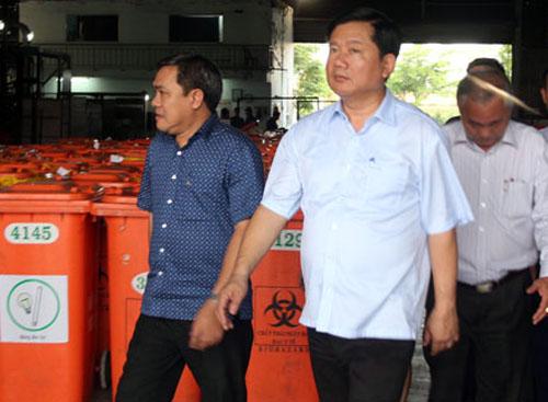 Sau chỉ đạo của ông Đinh La Thăng, TP HCM dời trạm xử lý rác ô nhiễm