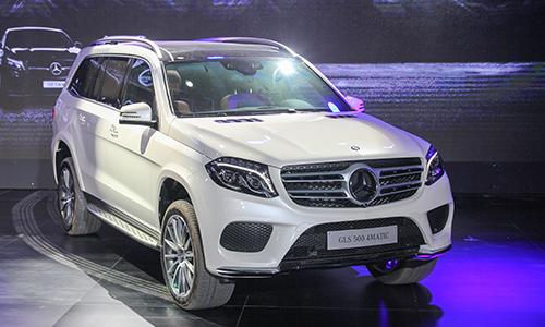 Mercedes GLS ra mắt khách Việt giá từ 3,9 tỷ đồng 1