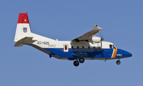 CASA - máy bay chuyên tuần tra biển 1