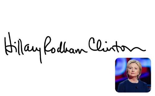 Chữ ký tiết lộ gì về tính cách Putin, Obama và Trump 5
