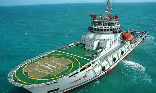 Tàu cứu nạn tốt nhất Trung Quốc tham gia tìm máy bay Việt Nam
