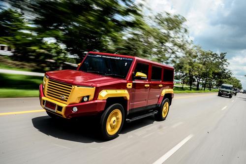 TR Transformer II - Hummer của người Thái giá 41.500 USD 1