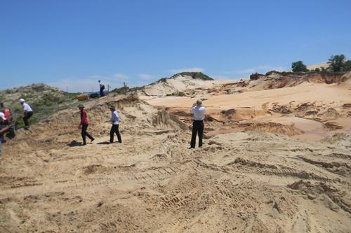 Công ty vỡ hồ chứa nước đãi titan bị phát hiện có nhiều sai phạm 1