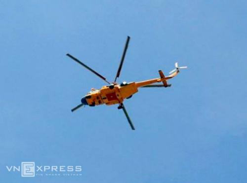 Rà soát toàn bộ vùng biển từ Quảng Ninh đến Hà Tĩnh để truy tìm 2 máy bay