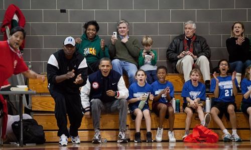 Tình yêu thương của Obama dành cho hai con gái 2