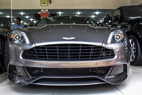 Siêu xe Aston Martin Vanquish thứ 4 ở Sài Gòn 1