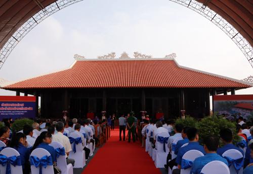 Khánh thành đền thờ người khai sinh vùng đất Sài Gòn 1