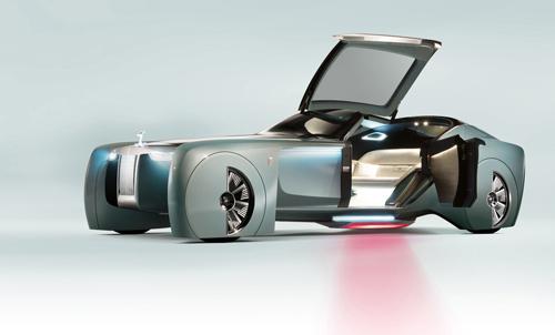 Rolls-Royce Vision Next 100 - tương lai siêu sang 1