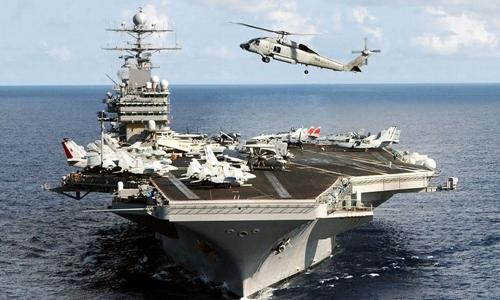 Tàu sân bay - công cụ Mỹ răn đe Trung Quốc ở Biển Đông 1