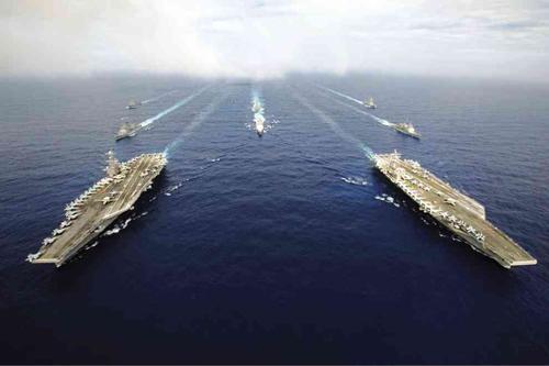 Tàu sân bay - công cụ Mỹ răn đe Trung Quốc ở Biển Đông 2