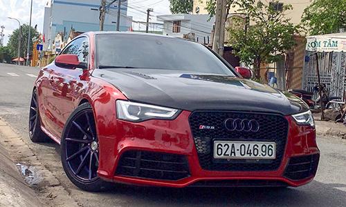 Audi A5 độ dàn áo RS5 của tay chơi Sài Gòn 1