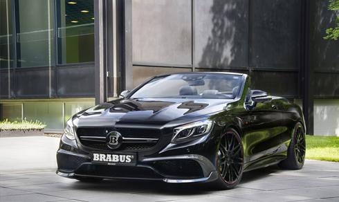 Brabus 850 6.0 Biturbo – xe mui trần nhanh nhất thế giới 1