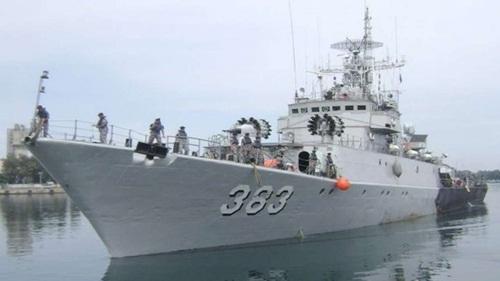 Tàu chiến KRI Imam Bonjol của Indonesia. Ảnh: SCMP