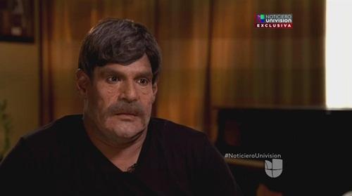 Miguel, người đồng tính gốc Mỹ Latinh tự nhận là người tình của kẻ xả súng hộp đêm Pulse. Ảnh: Univision