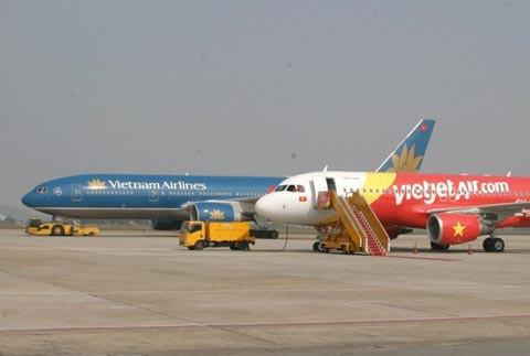 Một số máy bay ở Nội Bài bị chiếu laser uy hiếp an toàn