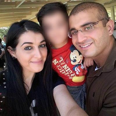 Omar Mateen đã kết hôn hai lần và có một con trai với người vợ thứ hai. Ảnh: Facebook