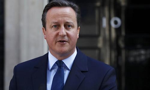 Thủ tướng Anh David Cameron. Ảnh: Reuters.