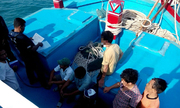 Malaysia bắt 14 ngư dân Việt