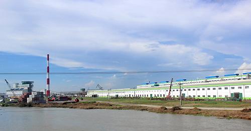 Thanh tra nhà máy giấy Trung Quốc trước lo ngại 'bức tử' sông Hậu