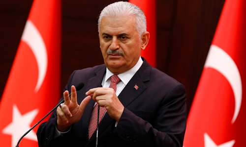 Thủ tướng Thổ Nhĩ Kỳ Binali Yildirim. Ảnh: Reuters.