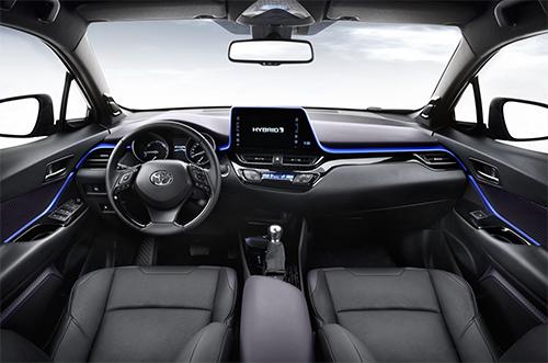 Toyota C HR 2017 0 9167 1467081657 Lộ nội thất Toyota C HR 2017   Nhiều tính năng và trang bị an toàn
