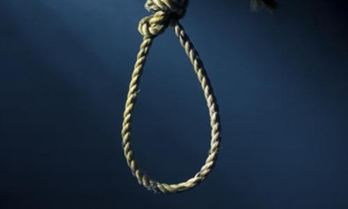 Viên cảnh sát vô tình tự treo cổ sau khi chỉ cho vợ về cách tội phạm bị hành hình. Ảnh minh họa: Huffington Post