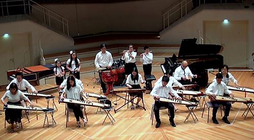 Nhóm Hanoi Ensemble biểu diễn tại nhà hát giao hưởng Berliner Philharmonie hôm 26/6.