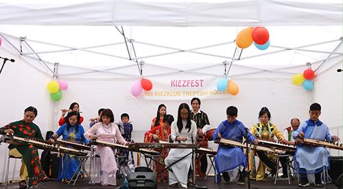 NhómHanoi Ensemble biểu diễnlễ hội mùa hè ngày 02.07.