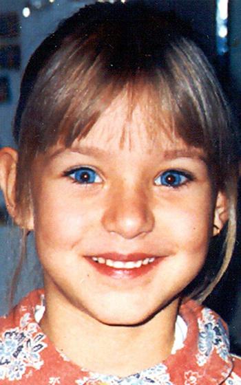 Peggy Knobloch khi mất tích vào năm 2001. Ảnh: DPA